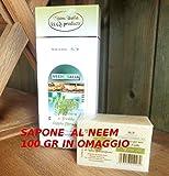 Olio di Neem puro biologico certificato da 250ml. + sapone omaggio