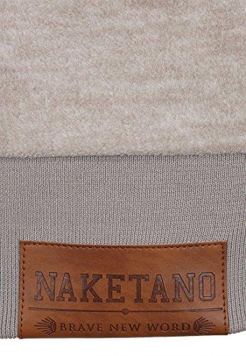Naketano Kanisterkopf IV W sweat à capuche Taupe Grey Melange