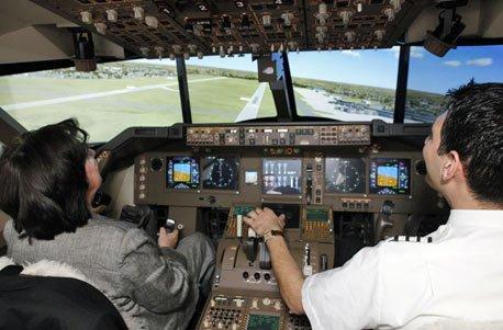 Geschenkgutschein: Flugsimulator Boeing 747 (Flug-sport-köln)