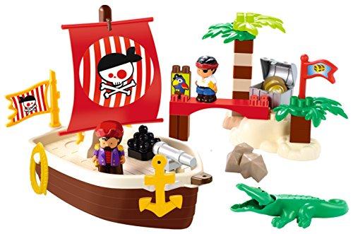 Ecoiffier abrick galeone pirati 34pz 7600003179
