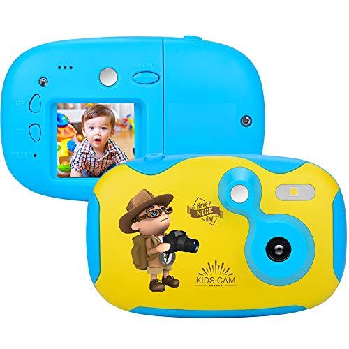 Cámara para niños Kidizoom con Pantalla de 1,44 Pulgadas Mini Recargable cámara Fotos Infantil Festival Regalos de cumpleaños para niños