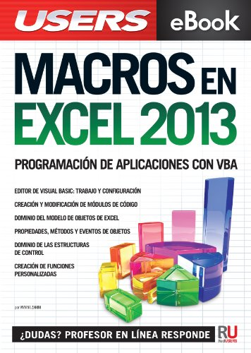 Libro macros con Excel