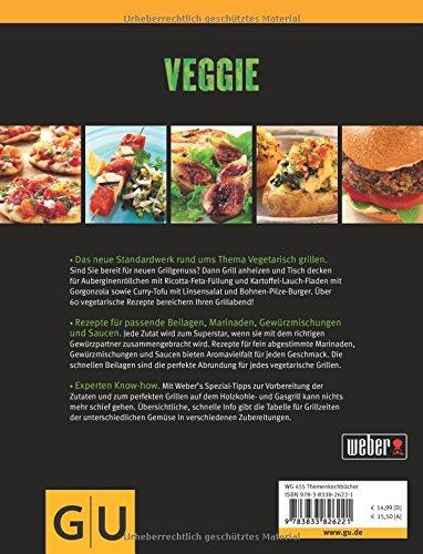 51MuBhsuQ7L - Weber's Veggie: Die besten Grillrezepte (GU Weber's Grillen)