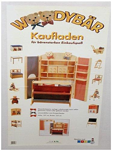 Preisvergleich Produktbild Roba 9292 Woodybär Kaufladen