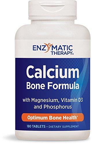 Calcio, magnesio, fósforo y vitamina D, 180 tabletas - terapia