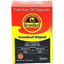 Seven Seas Cod Liver Oil - 500 Capsules