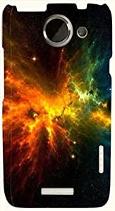 Attractive multicolor printed protective REBEL mobile back cover for HTC One X+ ( X Plus ) D.No.N-L-17693-htcX
