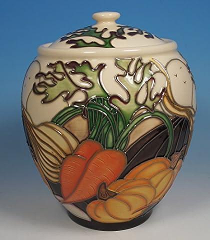 A MOORCROFT Market Days VEGETABLE GARDEN Ginger Jar 401/5 1st Quality RRP £410
