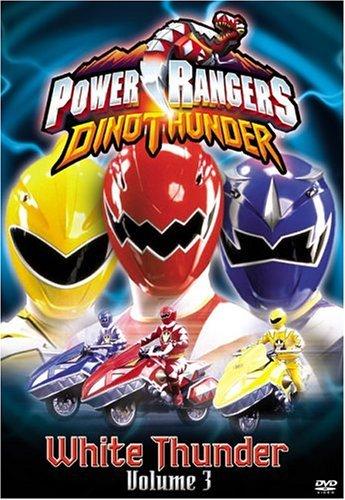Power Rangers Dino Thunder, Vol. 3: White Thunder by Kevin Duhaney (Power Rangers Dvds)