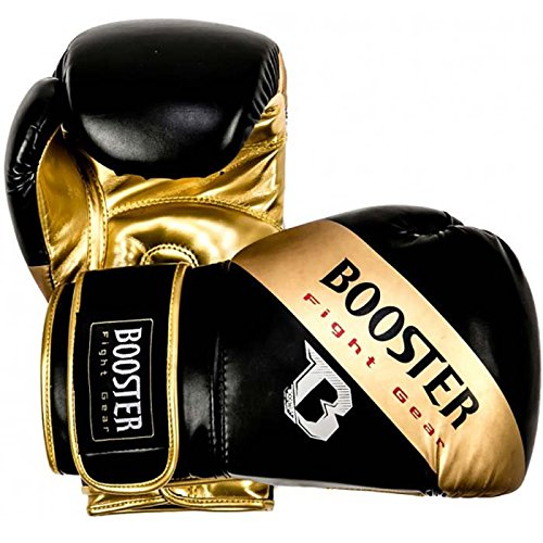 Booster Boxhandschuhe, BT-Sparring, gold, Boxing Gloves, MMA Muay Thai Kickboxen Size 12 Oz
