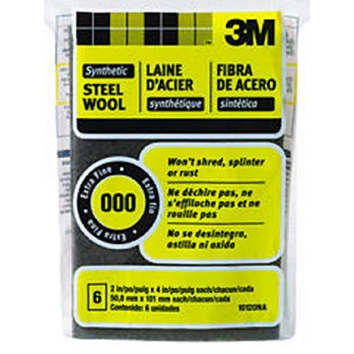 3M COMPANY - #000 Extra Fine Synthetic Steel Wool Pads