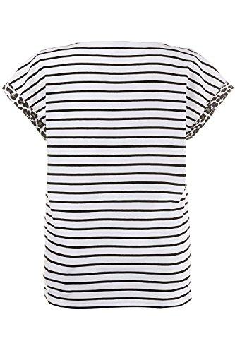 GINA_LAURA Damen Shirt 712480 Offwhite