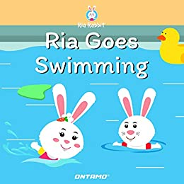 Ria Goes Swimming (Ria Rabbit Book 3) by [Pinge, Prashant]