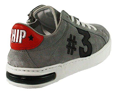 HIP | Jungen Sneaker - grau | grijs Grau