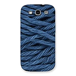 Special Denim Rope Print Back Case Cover for Galaxy S3 Neo