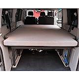 KFoam.es Colchón Plegable para Volkswagen T5, T6, Multivan, California Beach y Caravelle 185x148x8 cm