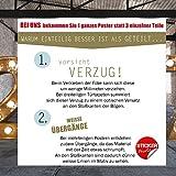 Türtapete selbstklebend Türposter – STEG ZUM MEER – Fototapete Türfolie - 8