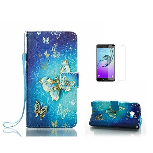 Para Samsung Galaxy J5Prime cristal templado caso [con protector de pantalla], fatcatparadise...