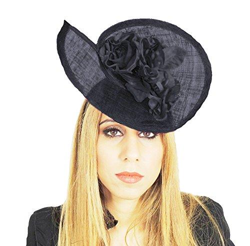 Hats By Cressida - Capeline - Femme Noir - Noir