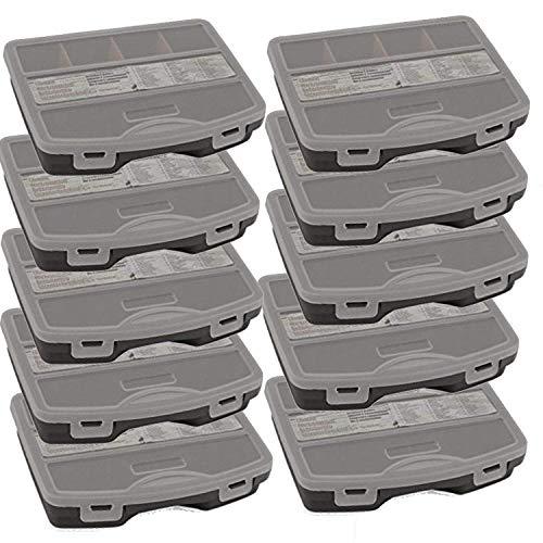 TronicXL 5 Stück Sortimentsbox Sortimentskasten Küche oder Werkzeug Zubehör Sortimentsboxen Sortierkästen Kleinteilmagazin leer