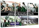Ultras Mönchengladbach, 3-Teiler Format: 120x80, Bild auf
