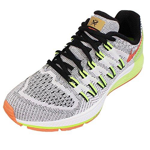 Nike Wmns Air Zoom Odyssey, Chaussures de Running Entrainement Femme, Taille WHITE/BLACK-VOLT-HYPER ORANGE