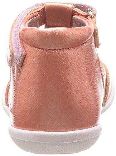 Aster Matilde, Chaussures premiers pas bébé fille Orange (173)