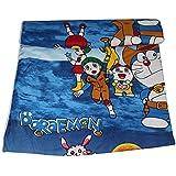 SHOP IT Doraemon Cartoon Prints Polycotton Single Bed Reversible AC Dohar/Blnaket/Quilt For Kids (Blue)