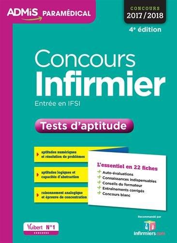 Concours Infirmier - Tests d'aptitude - L'essentiel en 22 fiches - Concours 2017-2018
