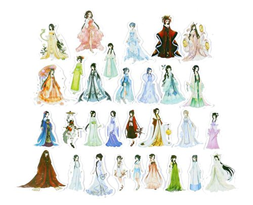 Schönheit in der chinesischen alten Kostüm Dekoration (Kostüme Dichtung)