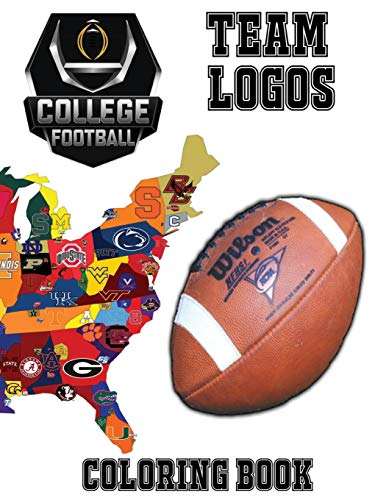 m Logos Coloring Book: This unique coloring book has the Logos of teams currently playing in Sun Belt, Mountain West, Mid - ... special gift or present for any football fan. ()