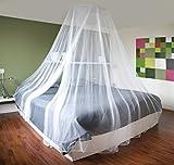XXL Doppelbett Moskitonetz Fliegengitter Fliegennetz Mückennetz Betthimmel Fliegenschutz