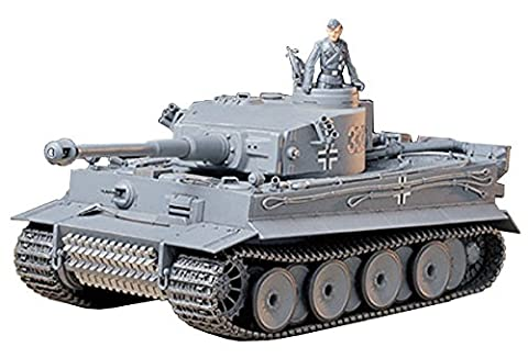 German Panzerkampfwagen VI Tiger I Ausfuhrung E (Sd.Kfz181) Early - 1:35 Scale Military - Tamiya