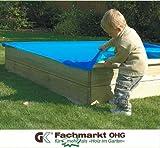 Sandkastenabdeckung 150x150 cm, aus PVC mit Gummizug