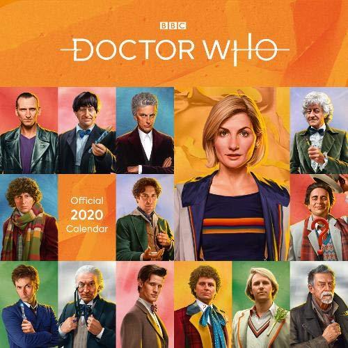 Doctor Who Classic Edition 2020 Calendar - Official Square Wall Format Calendar par Bbc