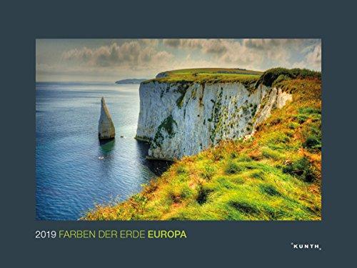 Farben der Erde: Europa 2019: Wandkalender