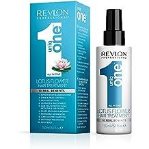 Revlon Uniq One Lotus  - Tratamiento Capilar flor de loto,  V2, 150 ml