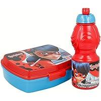 Preisvergleich für Joy Toy 786976 Miraculous Jausenbox + Trinkflasche, bunt