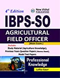 IBPS - SO Agricultural Field Officer (Main) Exam.