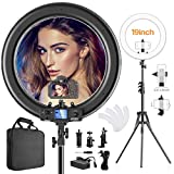 Ring Light,Upgraded Version with Wireless use & LCD...