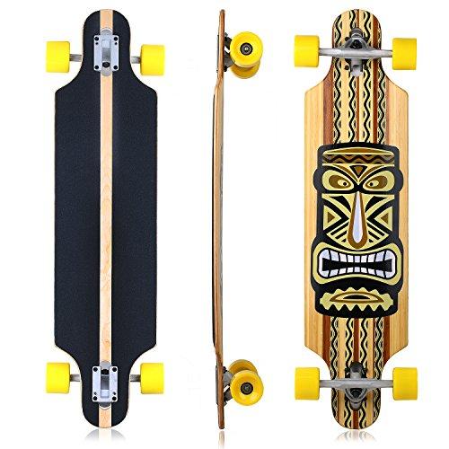 vokul-alta-rebote-monopatin-completo-deck-longboard-cruiser-skateboard-d-yellow