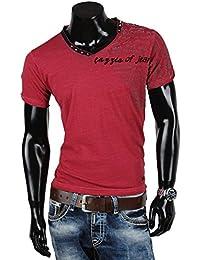 Tazzio t-shirt pour homme polo chemis'à manches courtes coupe slim pour femme style japonais nouvelle étiquette