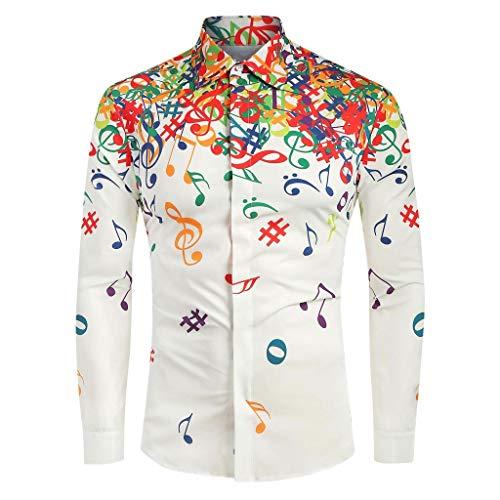 LILICAT Herren Regular Fit Freizeithemd Slim Fit Herren Business Hemd Langarm Shirts Casual Langarmshirt Mode Lange Ärmel Hemden Lässige Stehkragen Longshirts -