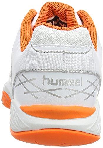 hummel HUMMEL OMNICOURT Z4 Unisex-Erwachsene Hallenschuhe Weiß (White 9001)