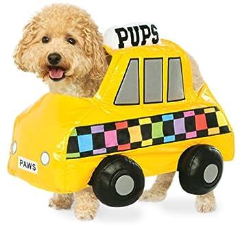 RUBIS fantaisie NYC Taxi Cab pour animal domestique Costume, Medium