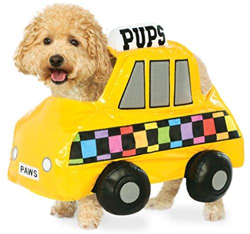 axi Cab Pet Kostüm, Mittel (Taxi Driver Halloween)