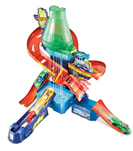Hot Wheels Shifters Color Splash Science Lab Playset