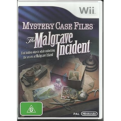 MYSTERY CASE FILES THE MALGRAVE INCIDENT - NINTENDO WII ED WII U