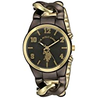 US Polo Assn Womens USC40177 Analog Display Analog Quartz Two Tone Watch