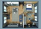 Tosend Servizi sas Residence & Hotel Kollektion Target Zusammensetzung komplett Raum RH101